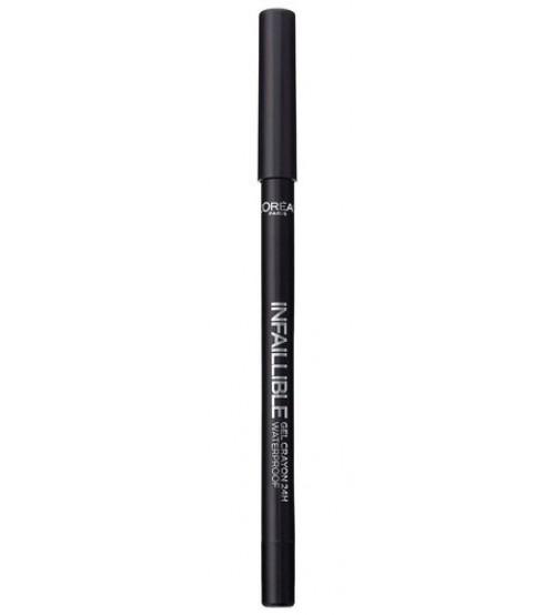 L'Oréal Infaillible Liner de Olhos Cremoso Gel Crayon 01