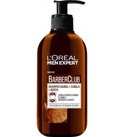 L'Oréal Men Expert Barber Club Shampoo Barba e Cabelo 200ml