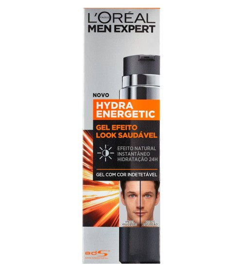 L'Oréal Men Expert Hydra Energetic Creme-Gel de Rosto 50ml