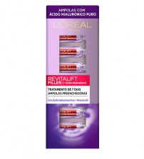 L'Oréal Revitalift Filler Ampolas 7x1.3ml