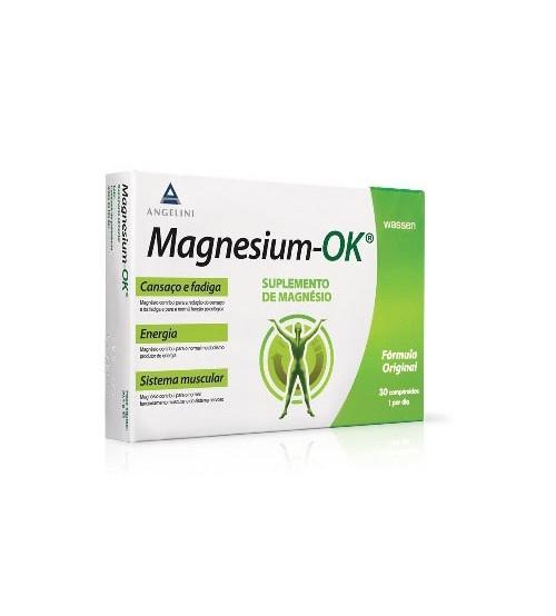 Magnesium-OK Suplemento de Magnésio 30 Comprimidos