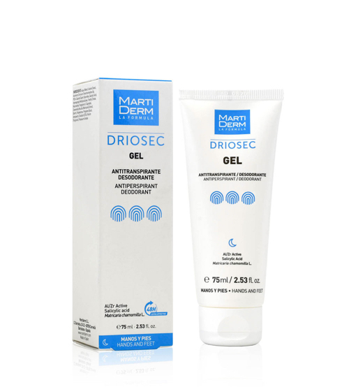 Martiderm Driosec Gel Antitranspirante 75ml