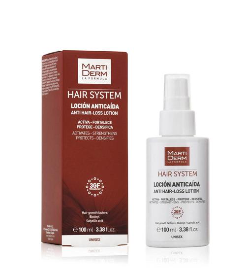 Martiderm Hair System Loção Antiqueda 100ml