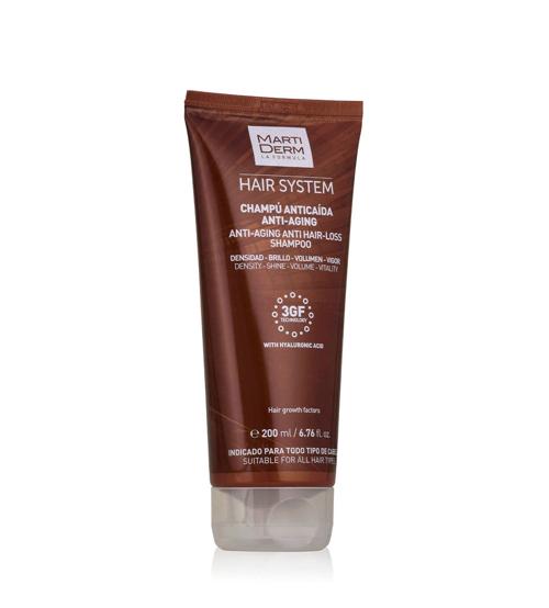 Martiderm Hair System Shampoo Antiqueda Anti-Aging 200ml