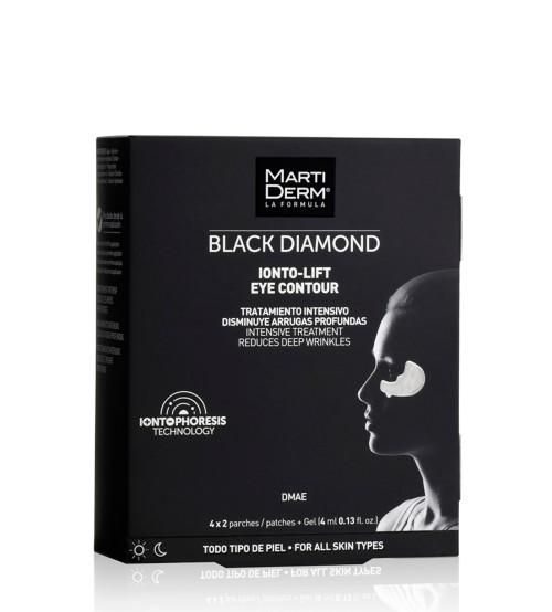 Martiderm Black Diamond Ionto-Lift Eye Contour 4x2 unidades + Gel 4ml
