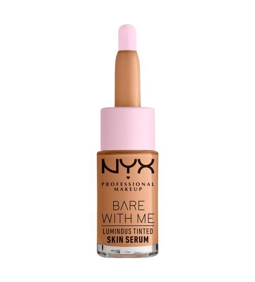 NYX Bare With Me Luminous Tinted Skin Serum - Medium 12.6g