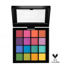 NYX Ultimate Shadows Paleta de Sombras - Brights 13.28g