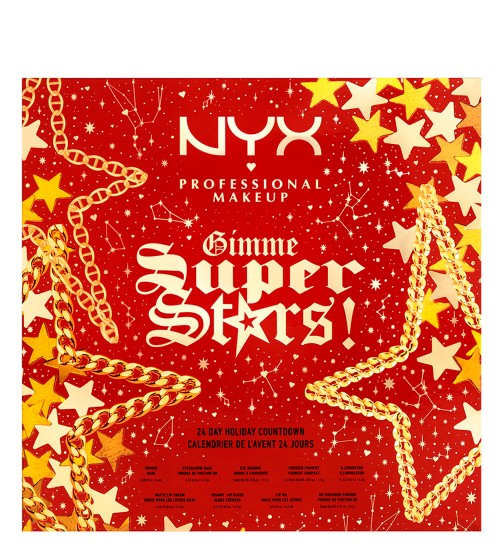NYX Gimme Super Stars! Calendário do Advento 24 Dias