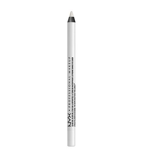 NYX Slide On Eye Pencil Lápis de Olhos à Prova de Água - Pure White 1.2g