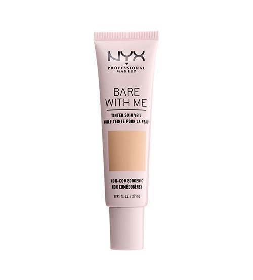 NYX Bare With Me Base Leve - Natural Soft Beige 27ml