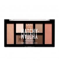 NYX Matchy Matchy Paleta de Sombras - Taupe