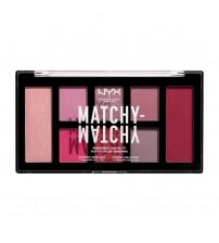 NYX Matchy Matchy Paleta de Sombras - Berry