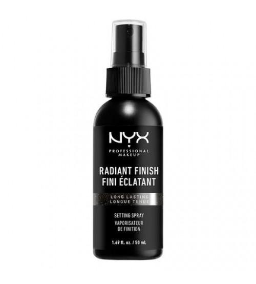 NYX Setting Spray Fixador e Prolongador de Maquilhagem - Acabamento Radiante 60ml
