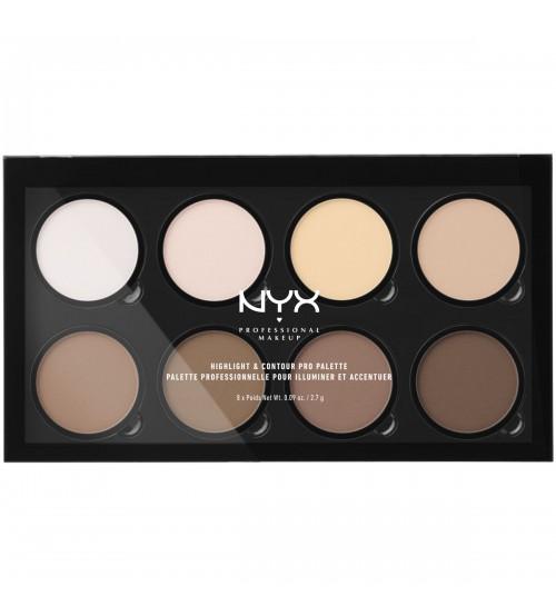 NYX Highlight & Contour Pro Palette 21.60g