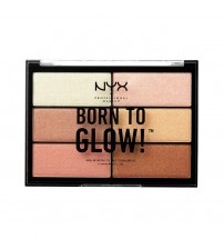 NYX Born To Glow Highlighting Palette 6x4.8g