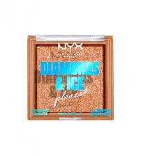 NYX Diamonds & Ice Face And Body Booster Citrine Dream 7g