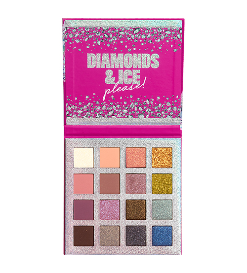 NYX Diamonds & Ice Paleta de 16 Tons