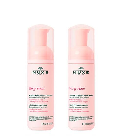 Nuxe Very Rose Espuma de Limpeza 2x150ml