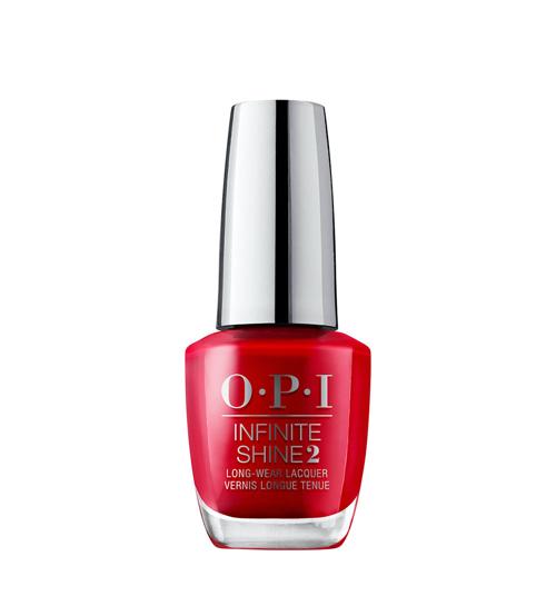 OPI Infinite Shine 2 Unequivocally Crimson 15ml