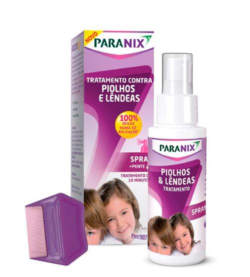 Paranix Spray de Tratamento 100ml + Pente