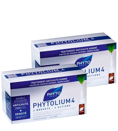 Phyto Phytolium 4 - Ampolas Anti-Queda 24x3.5ml