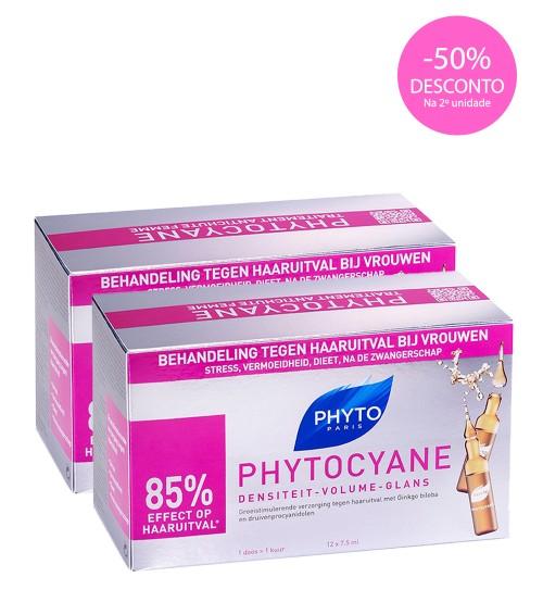 Phyto Phytocyane Ampolas Anti-Queda 24x7.5ml