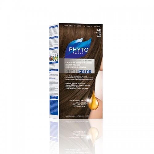 Phyto Phytocolor 4D Castanho Claro Dourado