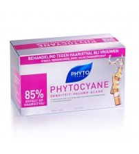 Phyto Phytocyane Ampolas Anti-Queda 12x7.5ml