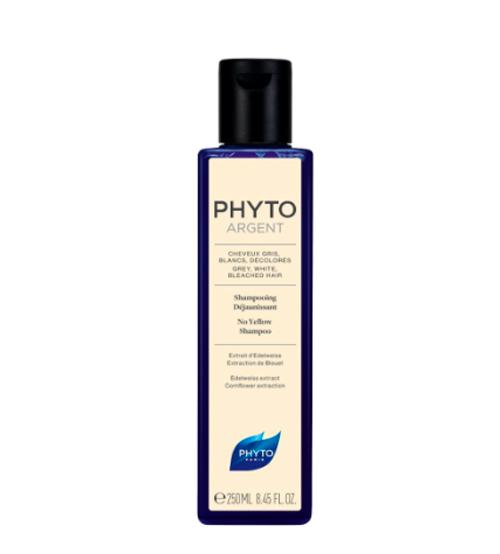 Phyto Argent Shampoo Cabelo Grisalho e Branco 250ml