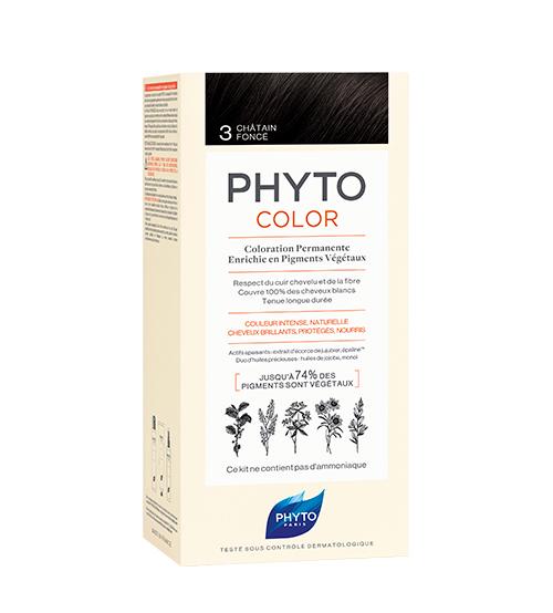 Phyto Color 3 Castanho Escuro