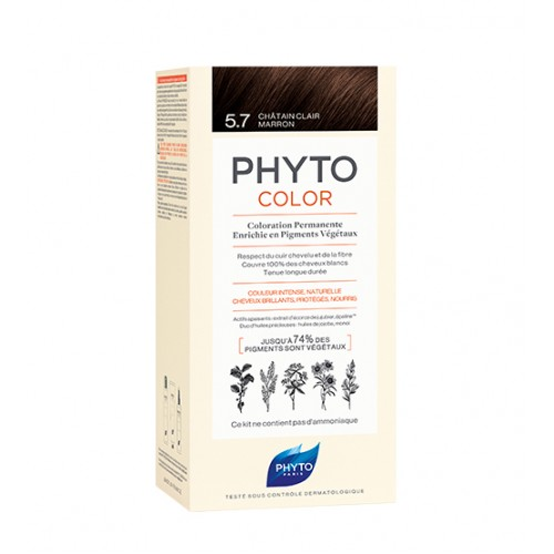 Phyto Color 5.7 Castanho Claro Marron