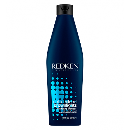 Redken Color Extend Brownlights Shampoo Com Pigmento Azul 300ml