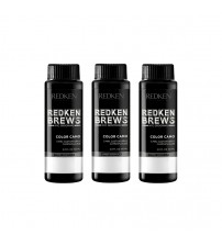 Redken Brews Color Camo - Dark Ash 3x60ml