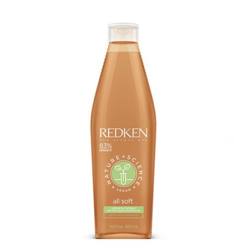 Redken Nature+Science All Soft Shampoo 300ml