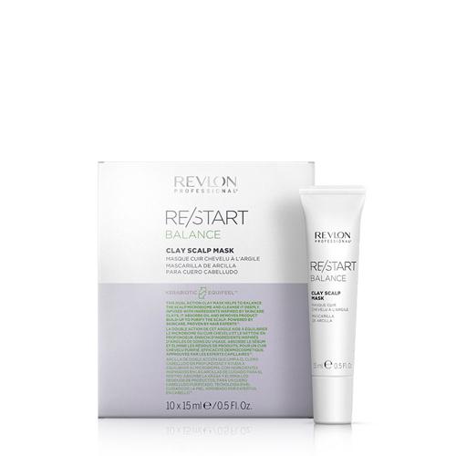Revlon Restart Balance Clay Scalp Mask 10x15ml