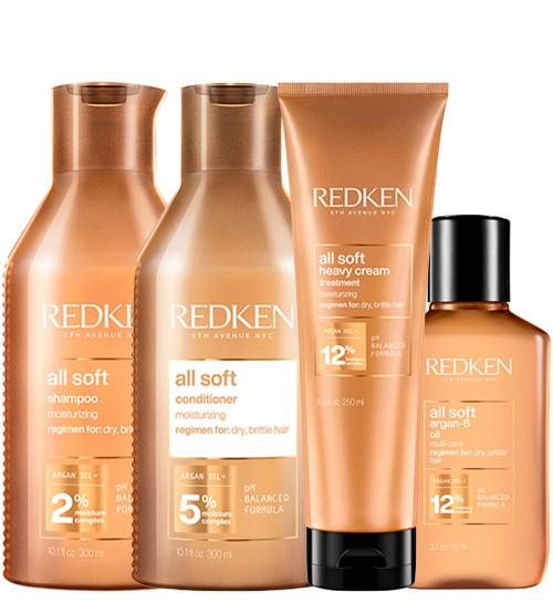 Redken All Soft Kit Hidratação Profunda
