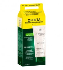 Rene Furterer Triphasic Shampoo Estimulante 200ml + OFERTA Bálsamo 30ml