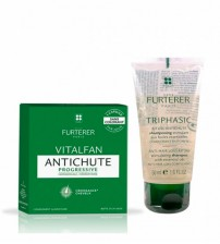 Rene Furterer Vitalfan Antiqueda Progressivo 30 Cápsulas + OFERTA Triphasic Shampoo 50ml