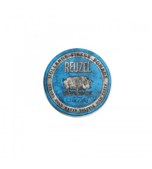 Reuzel Blue Pomade - Strong Hold Water Soluble High Sheen 35g