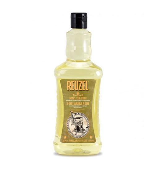 Reuzel 3-in-1 Tea Tree Shampoo 1000ml