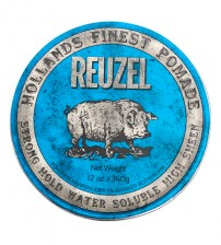 Reuzel Blue Pomade - Strong Hold Water Soluble High Sheen 340g