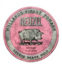 Reuzel Pink Pomade - Heavy Hold Grease 340g