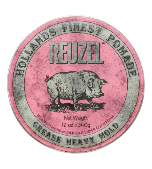 Reuzel Pink Pomade - Heavy Hold Grease 340g
