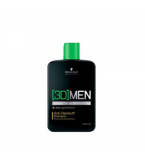 Schwarzkopf 3D Men Shampoo Anti-Caspa 250ml