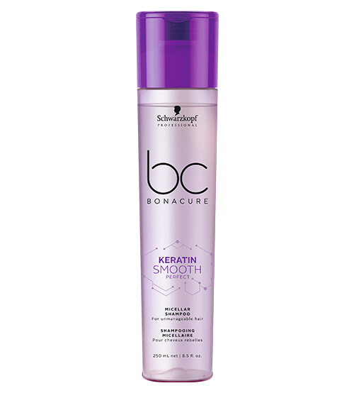 Schwarzkopf BC Keratin Smooth Perfect Shampoo Micelar 250ml