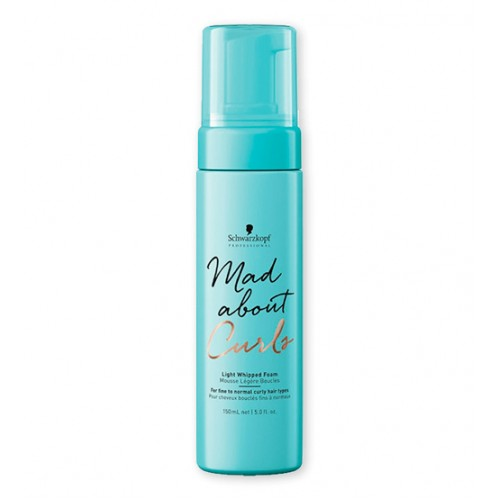 Schwarzkopf Mad About Curls Espuma Cremosa Ligeira 150ml