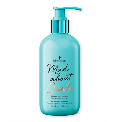 Schwarzkopf Mad About Curls Shampoo Extra Espuma 300ml