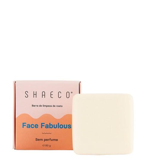 Shaeco Barra de Limpeza de Rosto Face Fabulous 80g