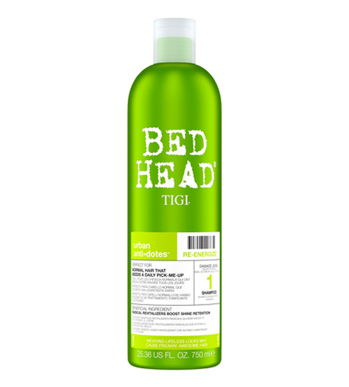 Tigi Bed Head Urban 1 Antidotes Re-Energize Shampoo 750ml