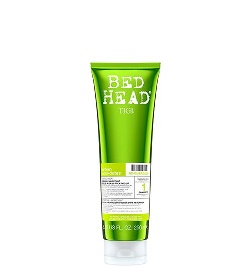Tigi Bed Head Urban 1 Antidotes Re-Energize Shampoo 250ml